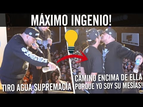 MC's DEMOSTRANDO SU GRAN INGENIO! 😮🔥 | Batallas De Gallos (Freestyle Rap)