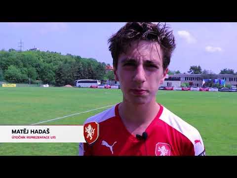 Reprezentace U15: Výhru nad Ukrajinou zařídil kapitán Hadaš