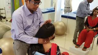 Chiropractic on neck stiffness in India Patna  by .Dr. Rajneesh kant 09308511357