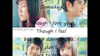 Someday Lyrics-Crazy Little Thing Called English Version