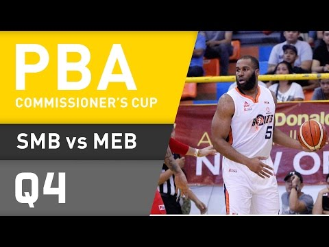 SAN MIGUEL VS. MERALCO - Q4 | Commissioner's Cup 2016