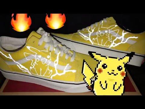 Custom Vans 🔥⚡️ 3m Reflective Pikachu