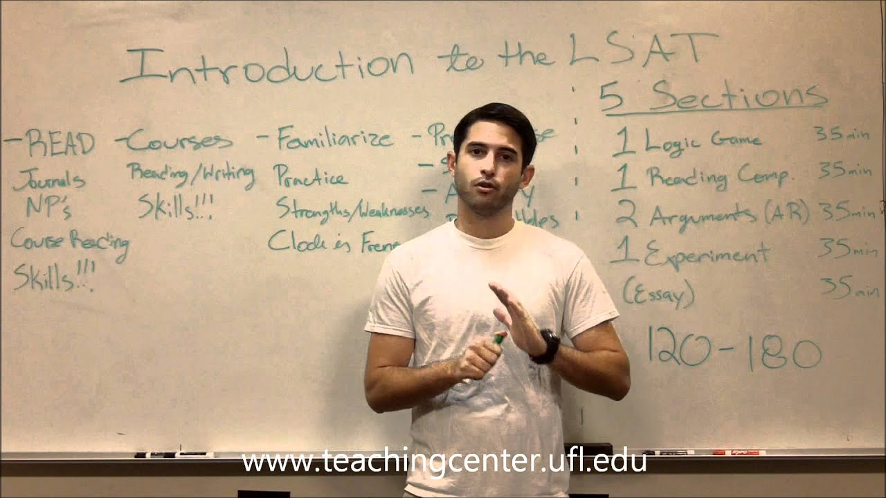 Introduction to the lsat youtube introduction to the lsat uf teaching center malvernweather Choice Image