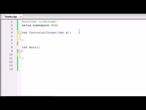 Buckys C++ Programming Tutorials - 31 - Recursion