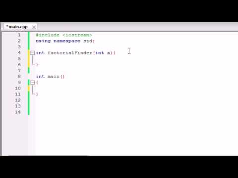 Buckys C++ Programming Tutorials - 31 - Recursion