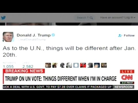 Donald Trump Responds To United Nations Resolution Against Israel!