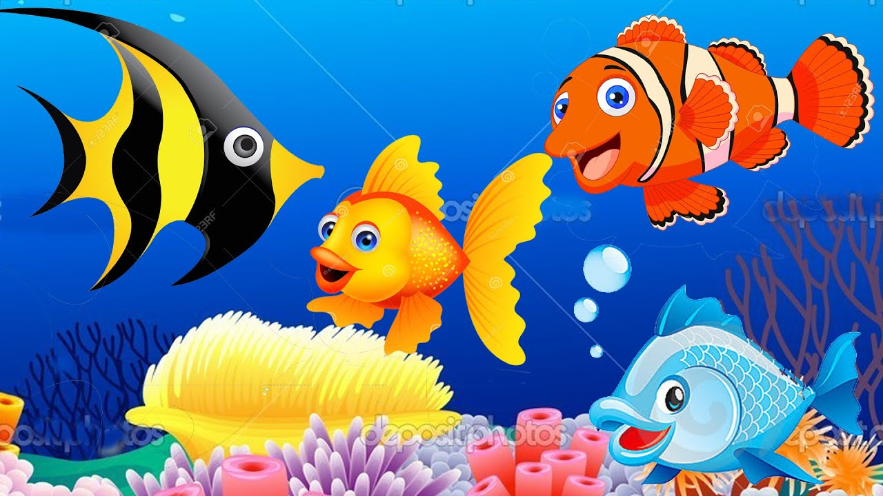 Fish finger family nursery rhymes songs for children for Fish songs for preschoolers