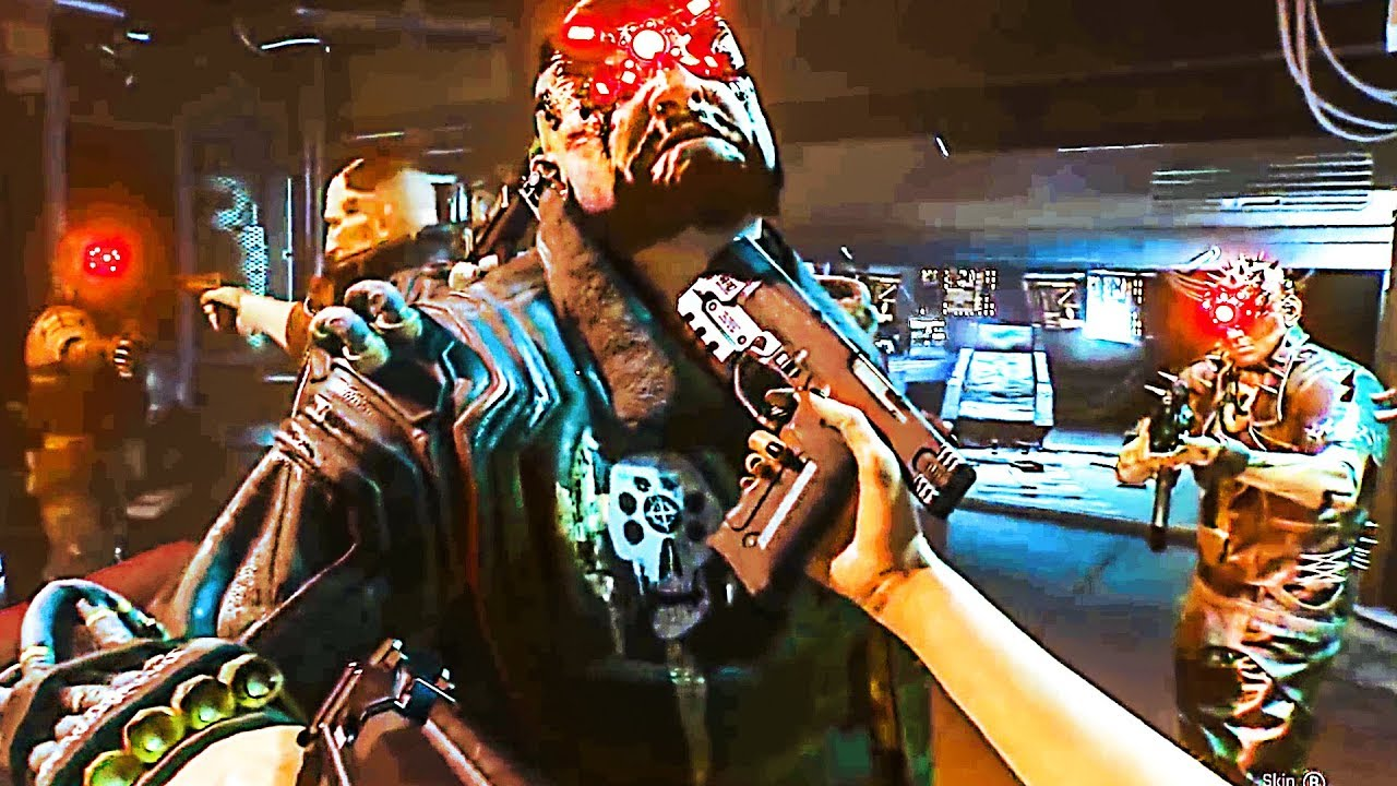 Cyberpunk 2077 Combat De Boss Gameplay 2019 Ps4 Xbox