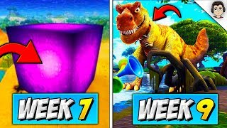 WHAT IS INSIDE THE CUBE?! *DINOSAURS* Fortnite Season 5 MYSTERY CUBE EVENT EXPLAINED! Season 5/6