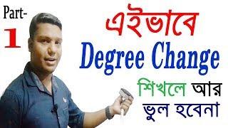 English grammar Degree Change [Transformation] in Bengali