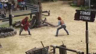 Cowboy Stunt Show at Safari World - Bangkok 7.2013