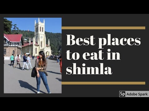 Top 12 Places To Eat In Shimla  Best Options