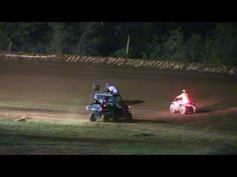 Flomaton Speedway Matt Spicer Flip 600 Mini Sprints 11 18 17