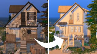 Can I turn this beach shack into a dream vacation home in The Sims?