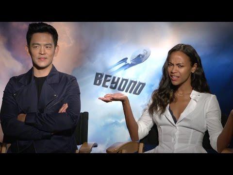 Star Trek Beyond: John Cho & Zoe Saldana talk about journeys, surprises, Obama