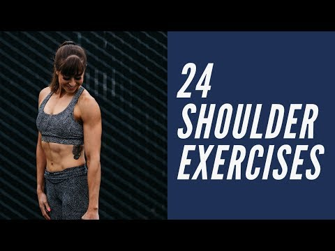 24 Shoulder Exercises for a Perfect Shoulder Workout