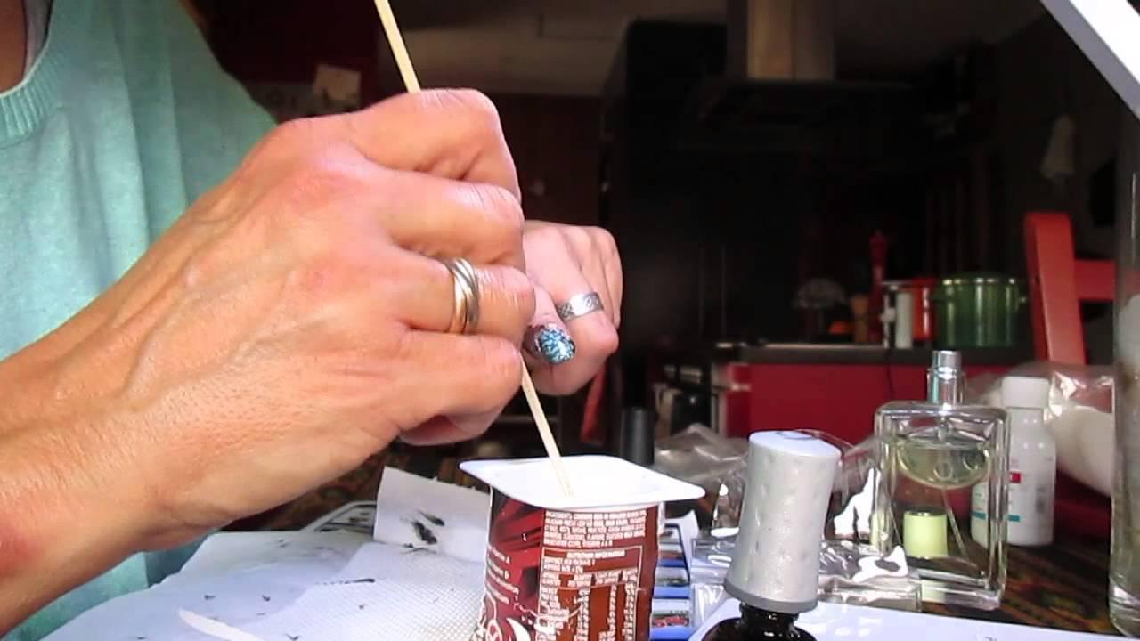 Water Spot Nail Art Tutorial Youtube
