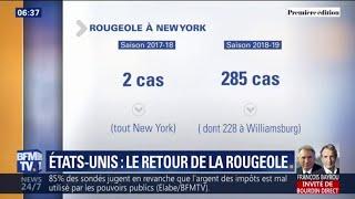 Bien aidée par les anti-vaccins, la rougeole est de retour à New York