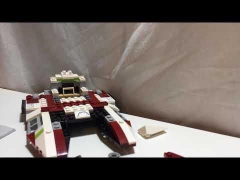 Republic fighter tank set 75182
