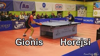 Gionis Panagiotis vs Miroslav Horejsi | Table Tennis