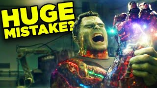 Avengers Endgame: Reversing the Snap a Mistake? | Big Question