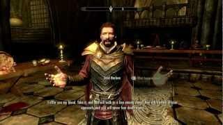 Skyrim: Dawnguard Vampire Story Part #1