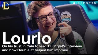 Lourlo on his trust in Cain to lead TL, Piglet's interview and how Doublelift helped him improve