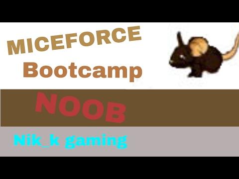 miceforce - failing at bootcamp