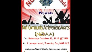 nufi canada achievement awards 2016