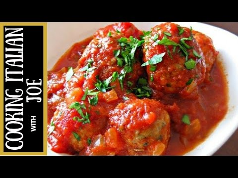 How to Make The Worlds Best Homemade Meatballs Cooking Italian with Joe