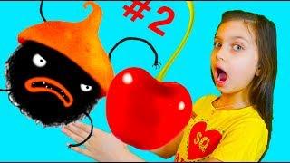 Chuchel МАМА и ВАЛЕРИШКА в ШОКЕ КТО ЭТО самая няшная игра ПРИКЛЮЧЕНИЯ Черного ЗВЕРЬКА Чучел Летсплей