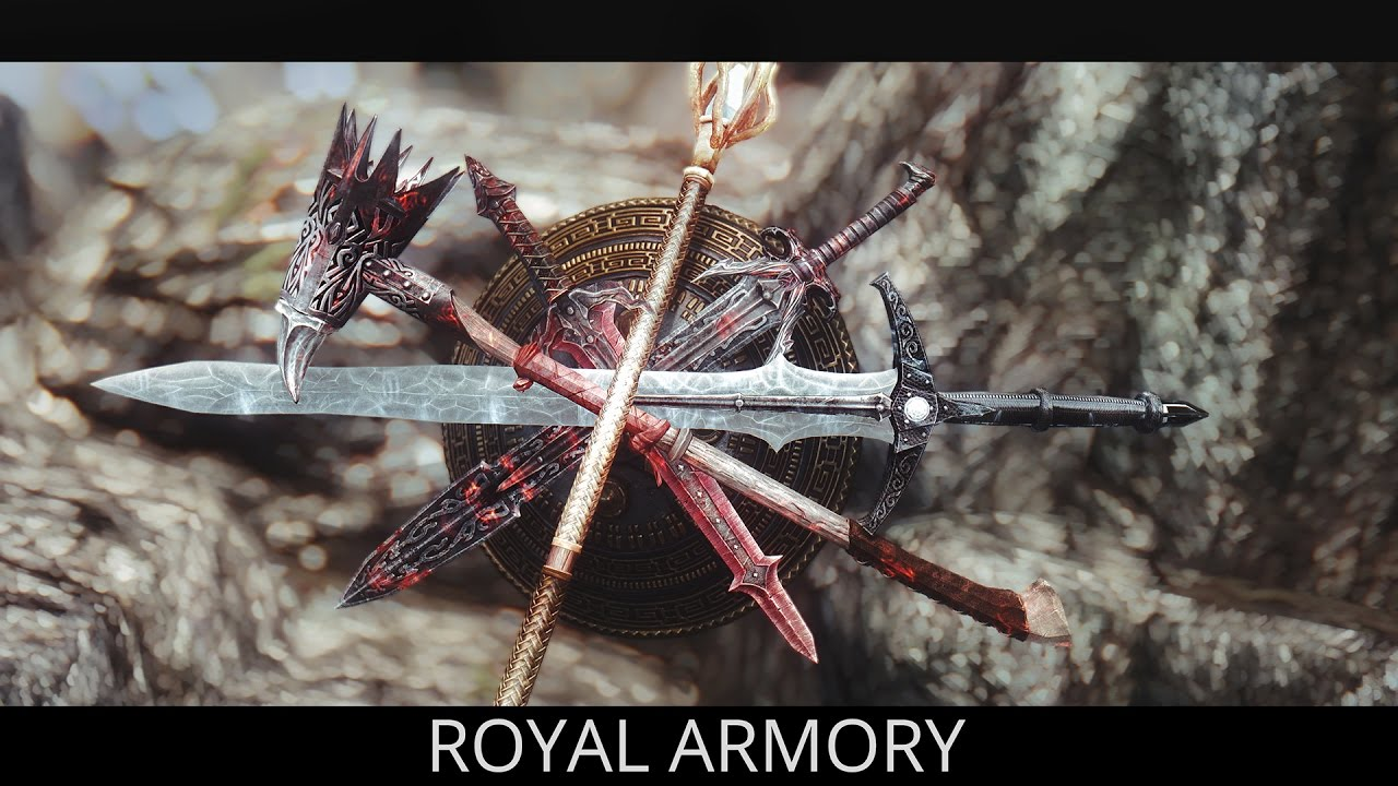 Amazing New Weapons Skyrim Mods Royal Armory Pc Xbox One