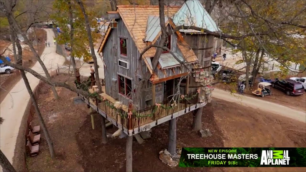 treehouse masters build at dogwood canyon