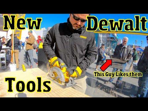 8 New Dewalt Tools