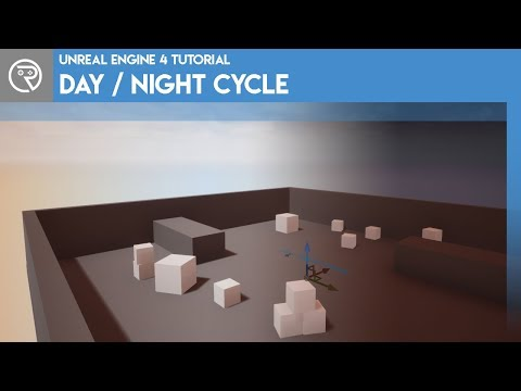 Unreal Engine 4 Tutorial - Day / Night Cycle - PakVim net HD