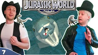Bros Play LEGO Jurassic World ✪ THE LOCH NESS MONSTER!! ✪ Co-op Multiplayer Gameplay ● #07