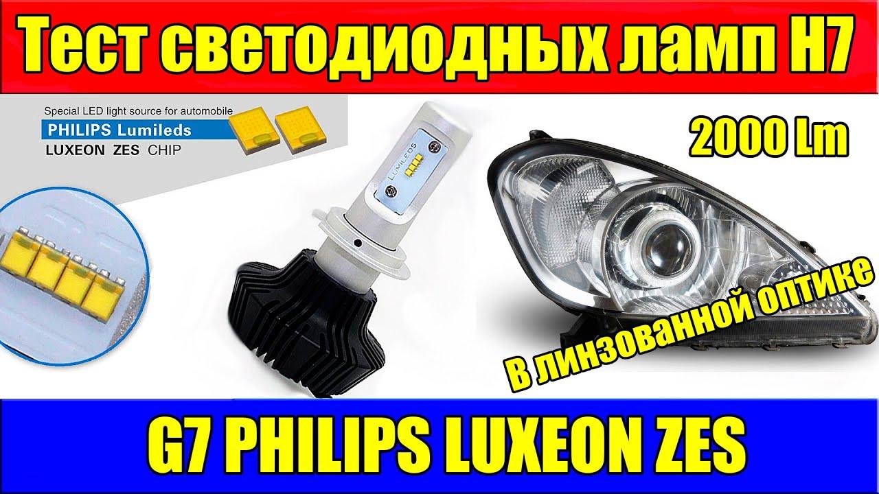 Установка светодиодных ламп H7 в фару Hyundai Santa Fe 2008 - YouTube