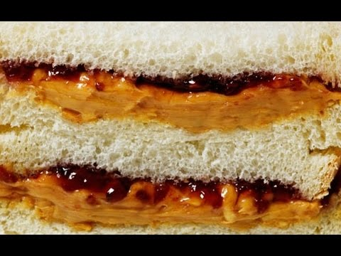 12 Peanut Butter & Jelly Sandwiches