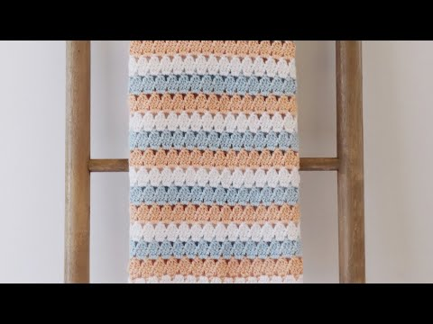 Rectangle Corner to Corner Granny Crochet Tutorial - scarf or