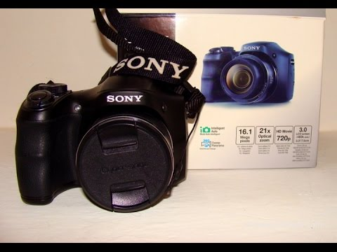 Видео-обзор фотоаппарата Sony CyberShot DSC-H100 - YouTube