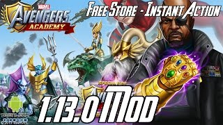 MARVEL: Avengers Academy 1.13.0 Mod (Free Store, Instant Action, Free Upgrade) APK
