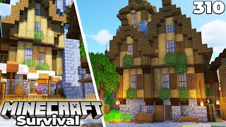 Minecraft 1.16 Survival : Major City Building Progress!