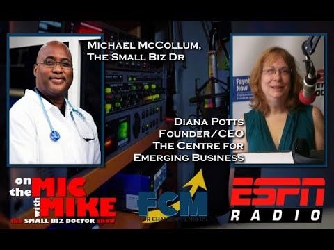 """On the Mic with Mike """"The Small Biz Doctor"""" feat. Diana Potts"""