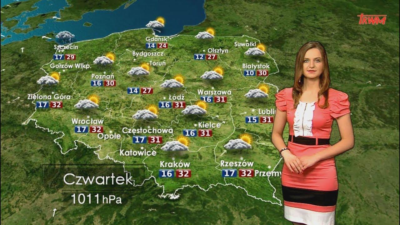 Prognoza pogody 20.07.2017