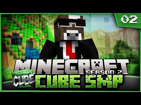 Minecraft Cube SMP - VILLAGER SLAVE NEGOTIATIONS - Ep. 2 ( Minecraft SMP Season 2 )