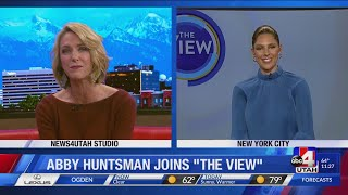 Nicea checks in with Utah native Abby Huntsman, new co-host of 'The View'