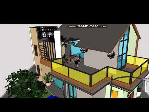 rumah dengan kolam renang#rumah sederhana#rumah mewah 4