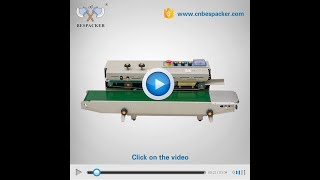 FRD-1000Ⅱcontinuous band sealer with solid ink printer