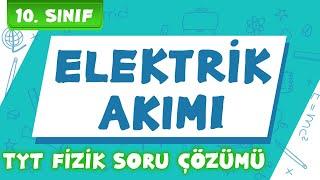 10.Sınıf ve TYT Fizik   Elektrik Akımı Lamba Güç Enerji(Soru Çözümü) + PDF