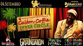 Calton Coffie (INNER CIRCLE) em Florianópolis | Brazil Tour 2015